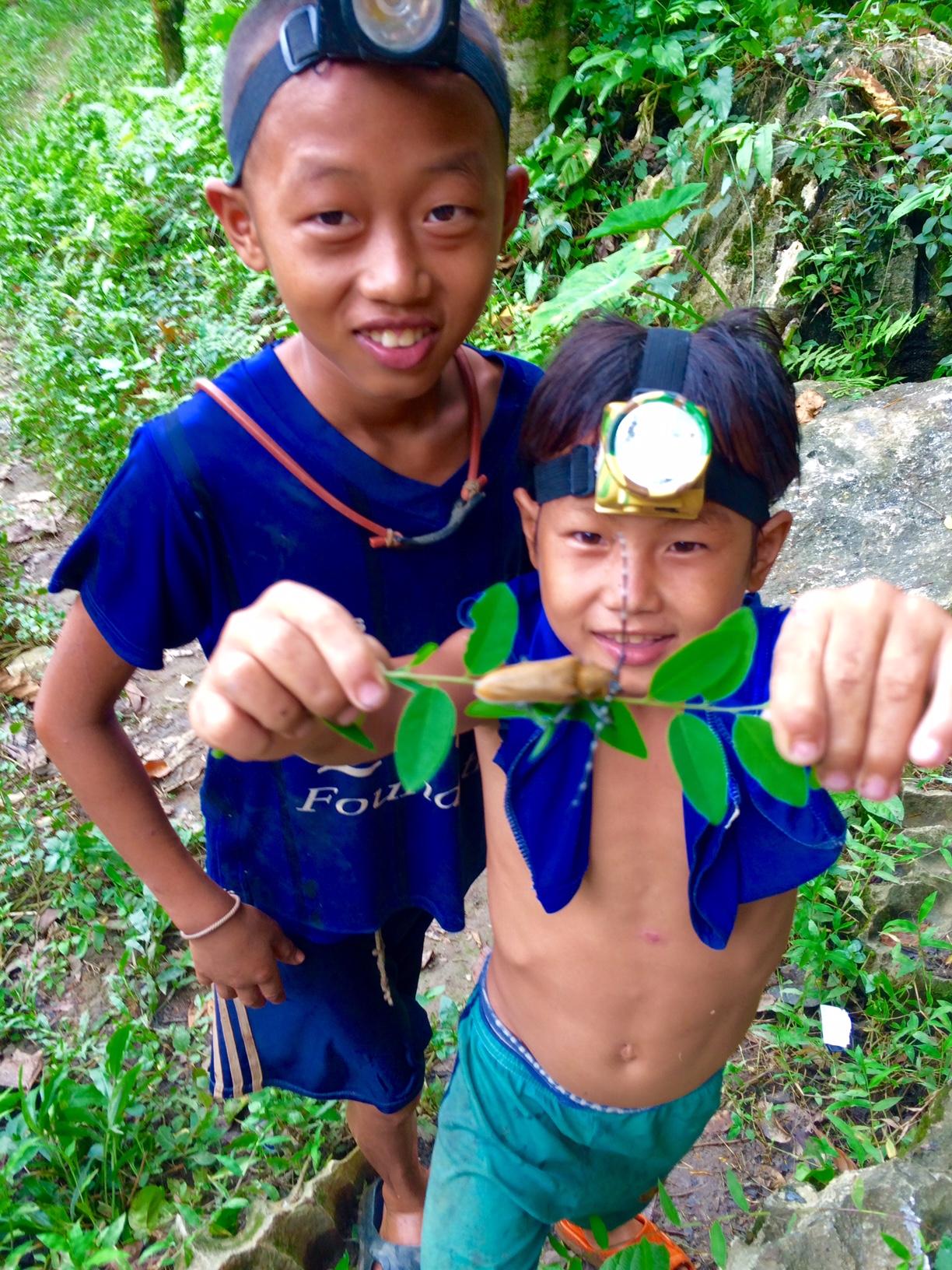 Bangkok nach Laos- Route und erste Eindrücke