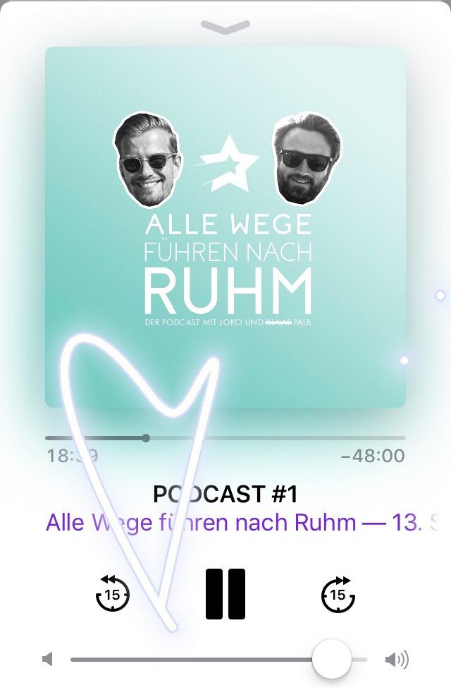 Alle Wege führen nach Ruhm – Podcast: Blick über den Tellerrand