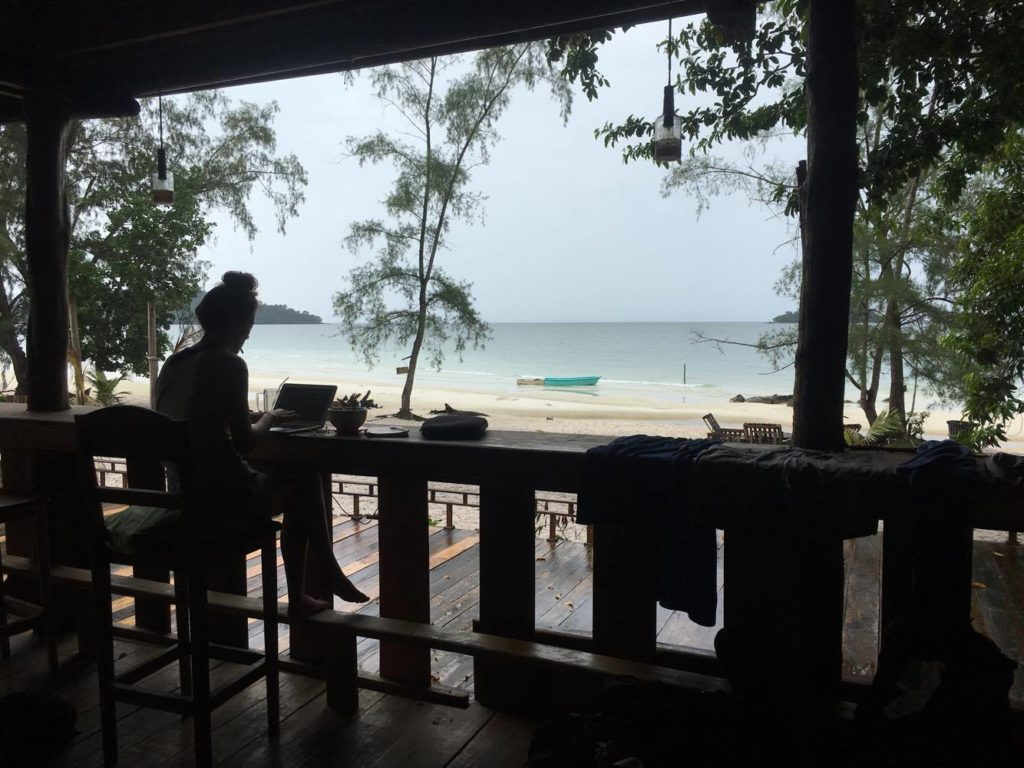 nest beach club koh rong