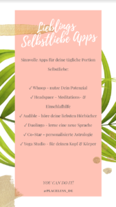 Placeless Beste Apps Freheit