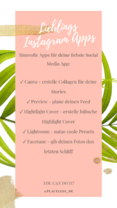 Instagram Apps Freiheit Business